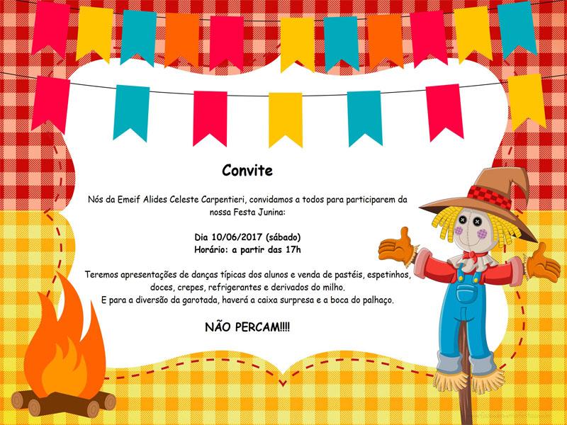 Festa Junina da EMEIF Alides Celeste Carpentieri