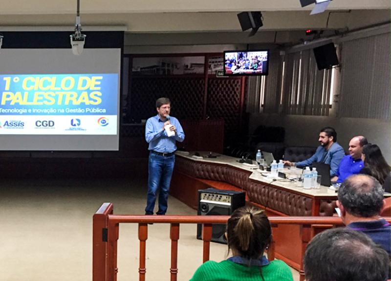 Servidores participam de Palestras sobre inovação
