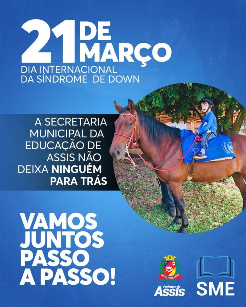 21 de Março-Dia Internacional da Síndrome de Down