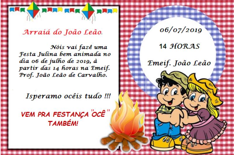 Festa Julina do João Leão