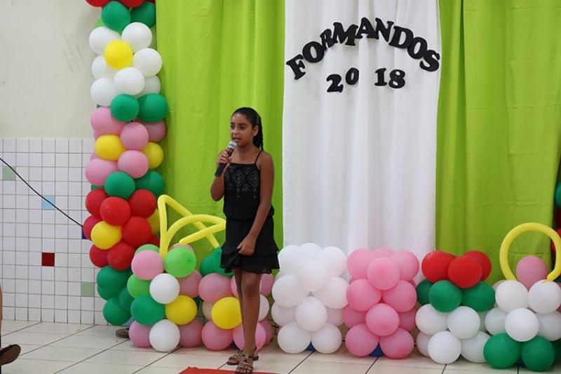 """Formatura da EMEIF """"João Luiz G. Ribeiro"""