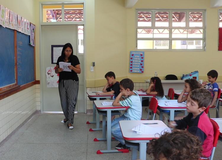 Alunos dos anos iniciais do Ensino Fundamental realizam avaliação do Mais Alfabetização