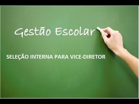 EDITAL Nº 06/2021 - SELEÇÃO INTERNA PARA VICE-DIRETOR