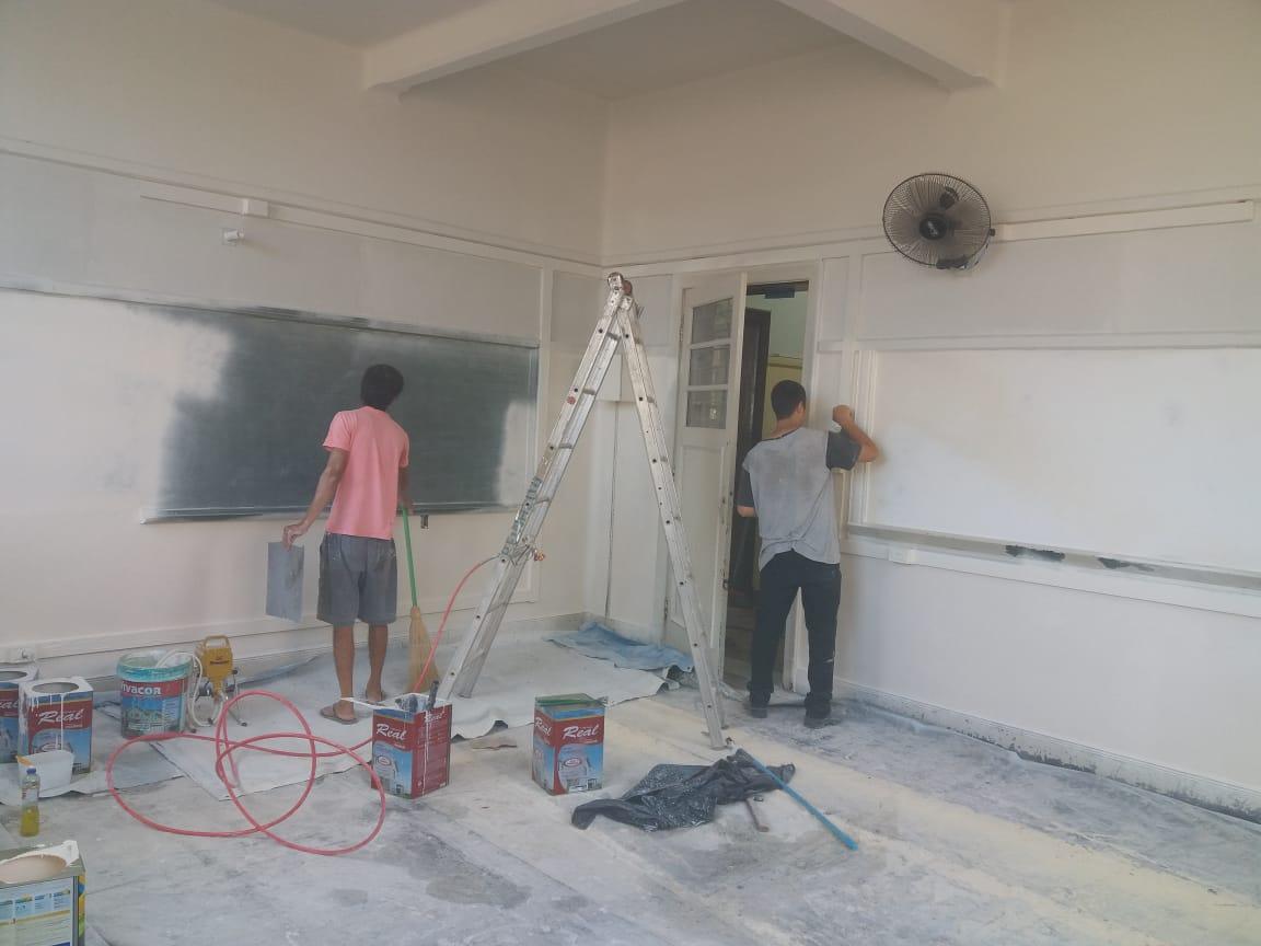 Escola João Mendes passa por melhorias estruturais