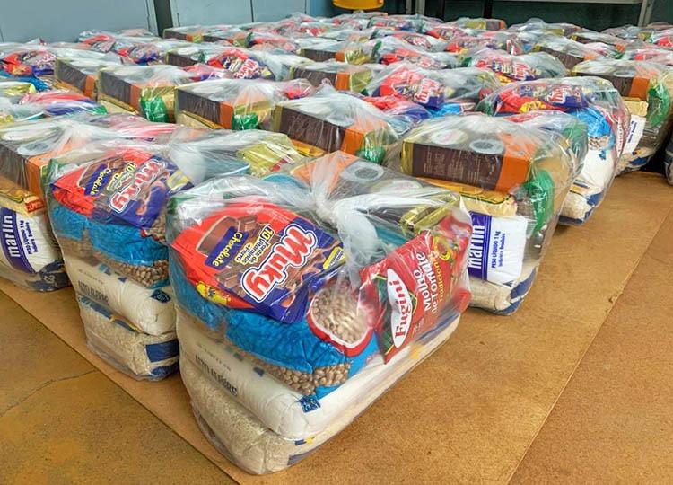 Unimed Assis repassa 111 cestas básicas para EMEIF Prof. João Luiz Galvão Ribeiro