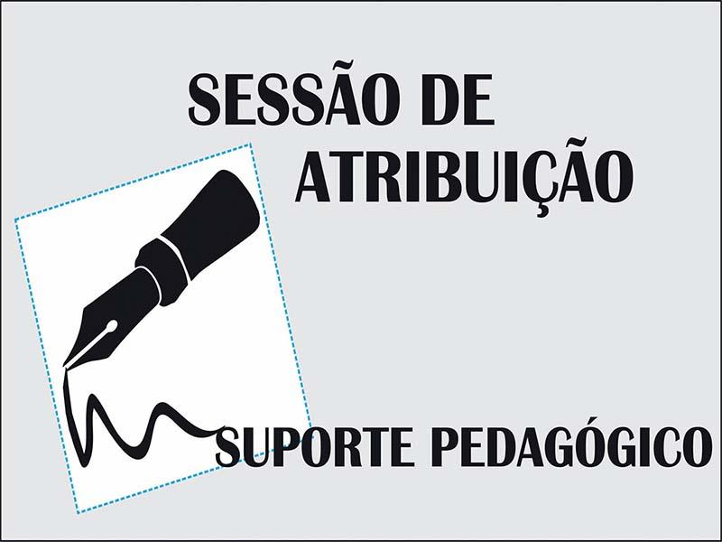 Sessão de Atribuição Suporte Pedagógico