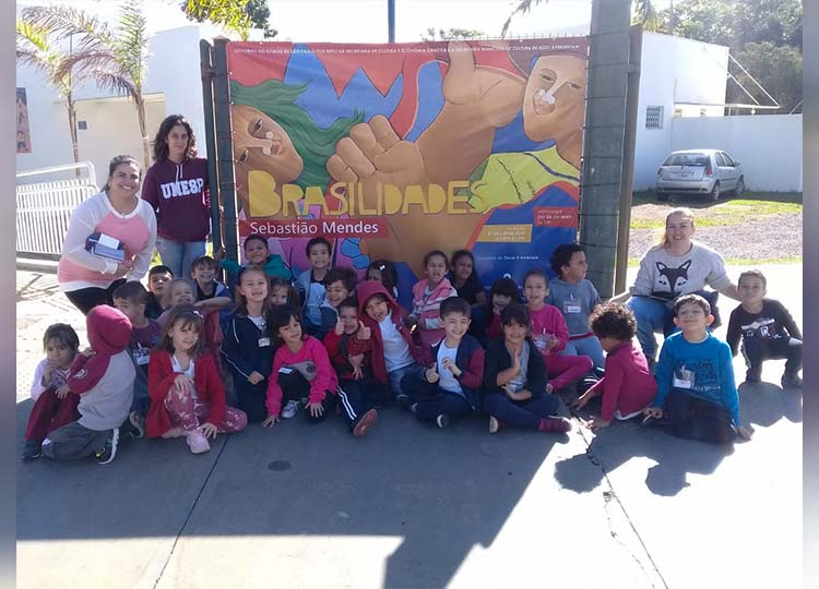 Alunos da Educação Infantil visitam o Museu de Arte Primitiva de Assis