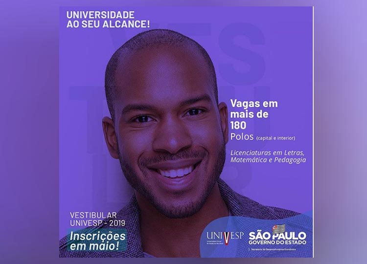 VESTIBULAR 2019 UNIVESP - MANUAL DO CANDIDATO