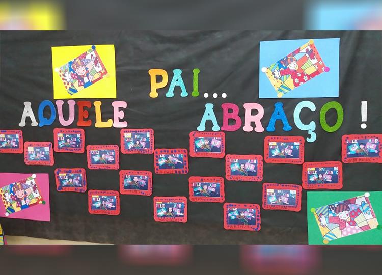 EMEI Rubem Alves realiza projeto alusivo ao Dia dos Pais