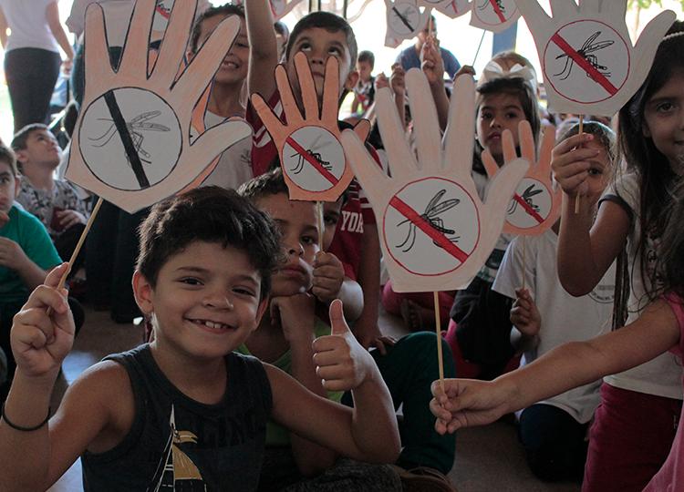 Dia D Alunos de Assis Contra a Dengue mobiliza escolas de Assis