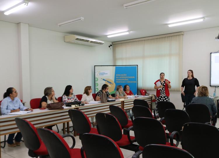 Formação a coordenadores aborda instrumentos de avaliação