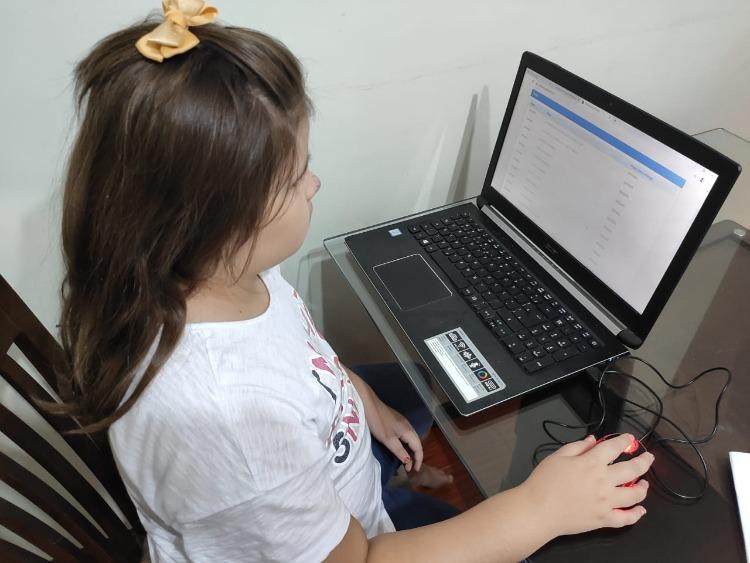 Mais de 7 mil alunos da Educação Municipal estão cadastrados na sistema online
