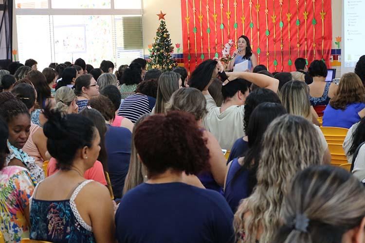 Professores da Educação Infantil participam de encerramento da formação sobre práticas humanizadoras
