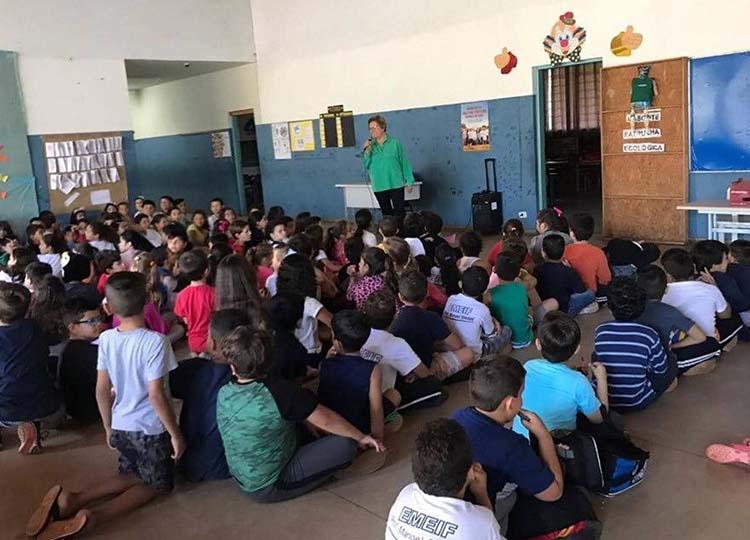 EMEIF Manoel Simões realiza Projeto Patrono e Patronesse da Escola